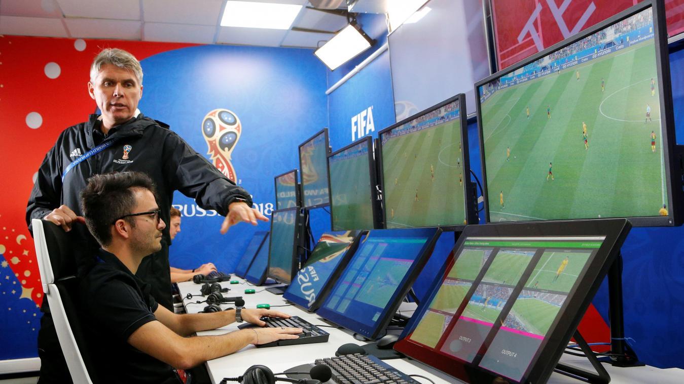 Assistance vidéo pour la Coupe du Monde 2018