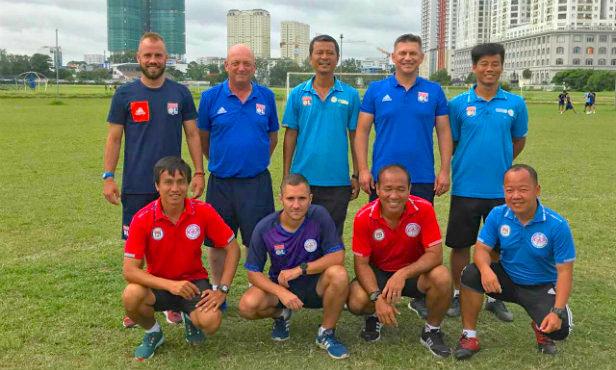 L'équipe à Ho Chi Minh City