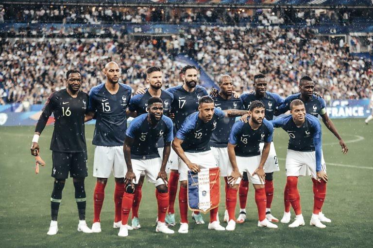 Photo d'avant match France Irlande