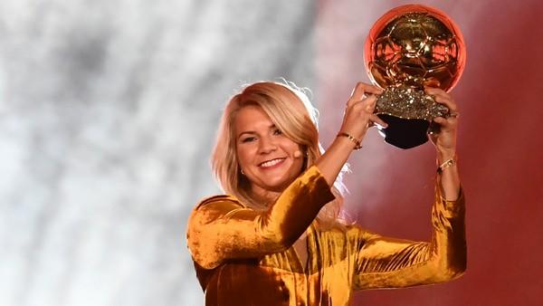 Ada Hegerberg Ballon d'Or 2018